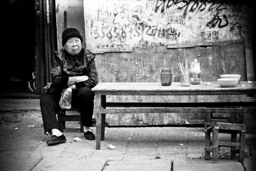 Photo: Sitting, Shangqiu, Henan, by Mark Hobbs http://bit.ly/YWBT88