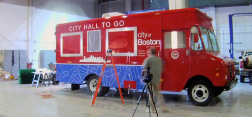 springwise:  In Boston, a food truck-inspired roaming City Hall van Government authorities have already experimented with new ways to connect to constituents, such as collecting civic complaints via a smartphone app in Rio de Janeiro. Now the City of Boston has launched its City Hall To Go scheme, which is bringing civic services to residents in their neighbourhoods. READ MORE…