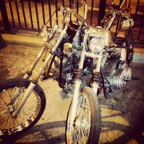 Steve's other kickstand is your bike.  (at Five Star Bar)