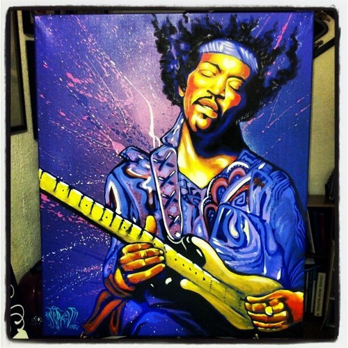 Free your Mind #hendrix #jimihendrix #portrait #Painting #canvasart #MUSIC #rock #purplehaze #purple #love #peace #guitar #artlovers #aerosolArt #mixmedia #ser_v1 #likeaboss #likethis #feelingit #passion #high #creating #create #forthelove