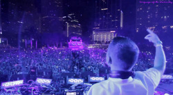 language-of-the-electricsky:  Kaskade at Ultra Music Festival 2013