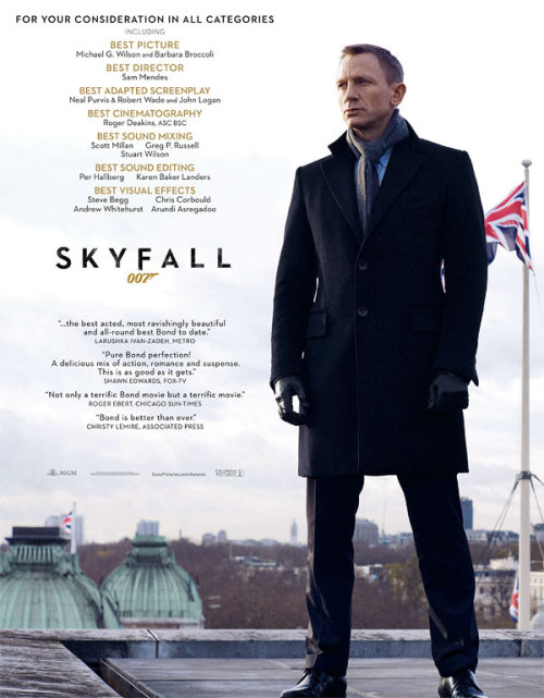 Skyfall | For Your Consideration POSTER