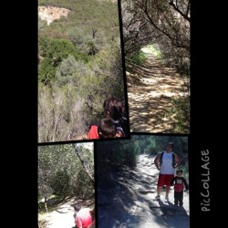 Hiking with the Besti @gztavo the twin @josues1991 today was a blast. #round2 #instadaily #repost  (at black diamond mines)