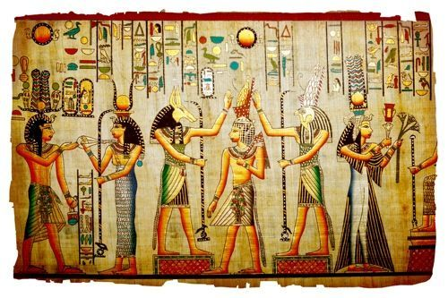 pharaohlife:  Ancient Egyptian Creation Myths Hieroglyphic