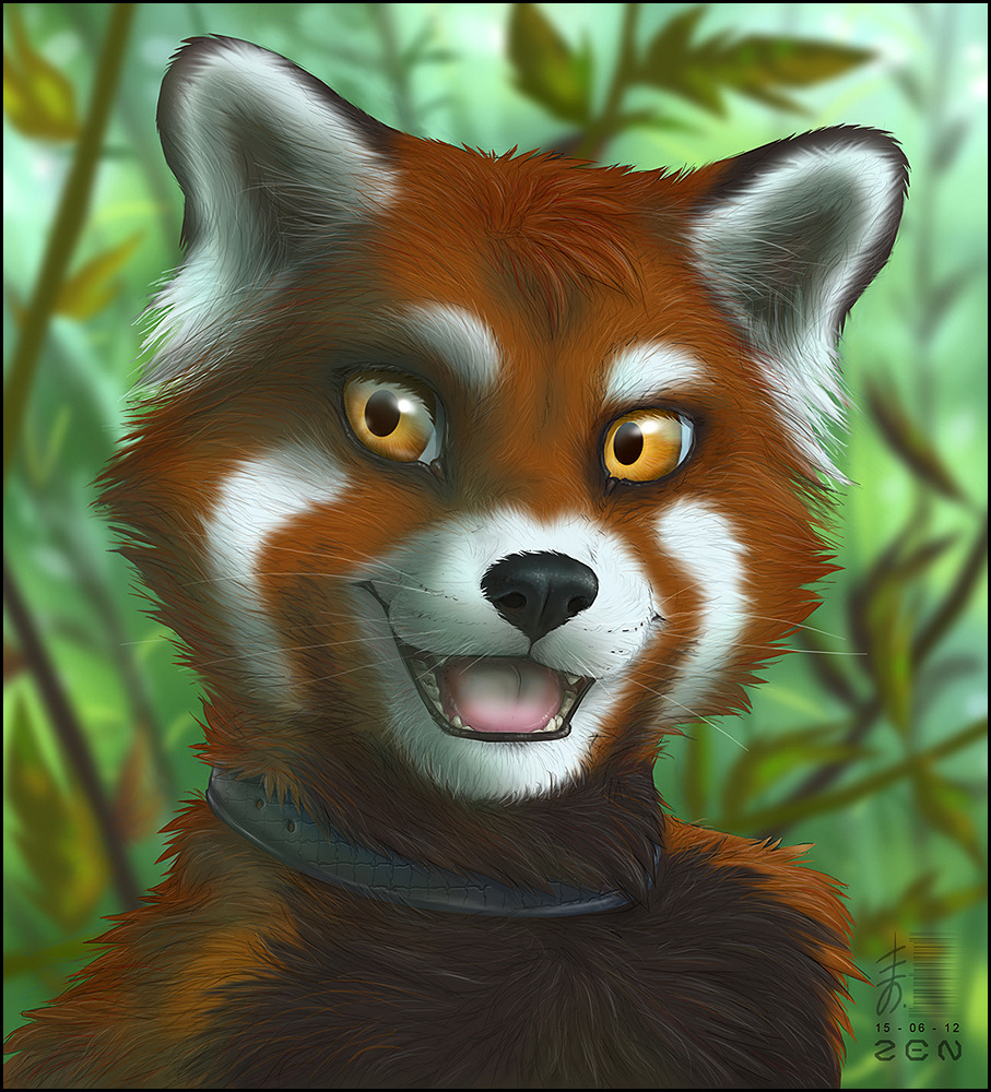it-came-from-the-black-legume:  Red Panda! Artist (x)