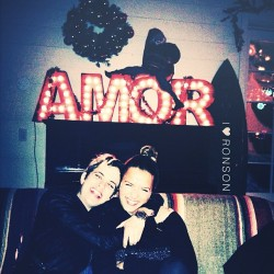 I❤RONSON so cute @samantharonson @cjronson  (at The Bungalow Santa Monica)
