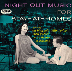vinylespassion:  Night Out Music for Stay-at-Homes, 1950's.