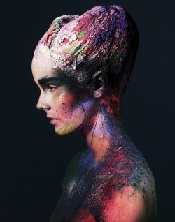 make-up-is-an-art:  Julia Valimaki by Bjarne Johansson for Wonderland September/October 2012