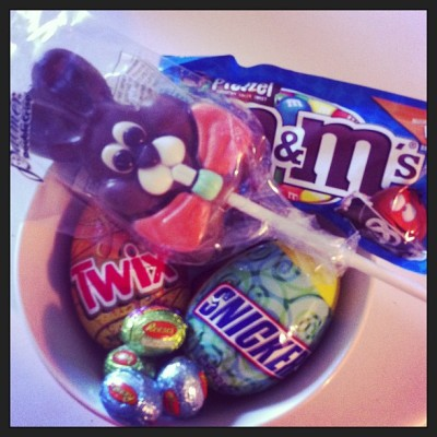 #easterbasket from David & his mom :) #cute