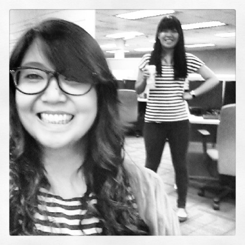 Stripes-Day Friday. Totally unintentional. :-)