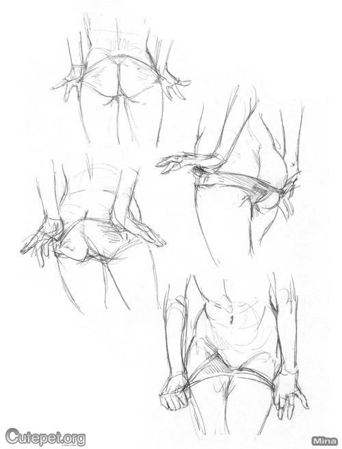 Strip Tease (sketches by Mina)