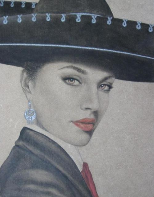 ilovemymariachilife:  Mariachi Painting by Lynet McDonald  Beauty.
