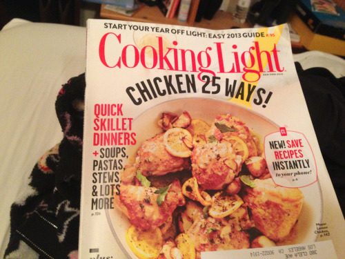 I love this magazine , I'm going to commit to cooking at least one meal a week from this magazine starting this week! And post about it :) lets do it !