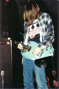 youremyvitamins:  Kurt Cobain, Seattle, January 6, 1990