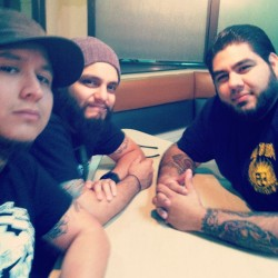 Hanging with my bros. @xjohnogamcx @xnatewolfx  @walkthegraves #walkthegraves