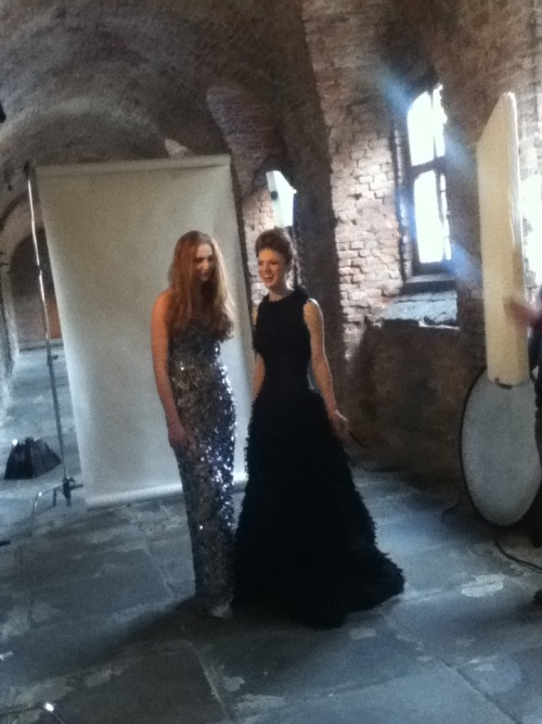 swordinthedarkness:  Sophie Turner and Rose Leslie