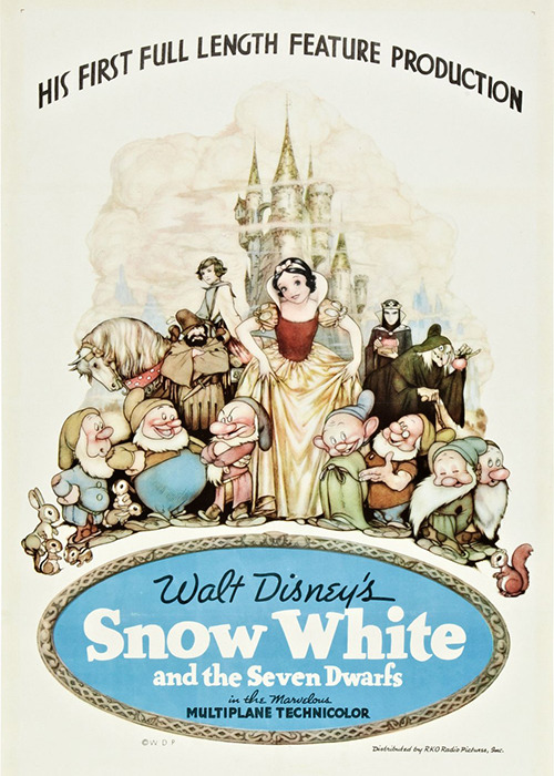 disneyfilm:  Snow White and the Seven Dwarfs (1937)
