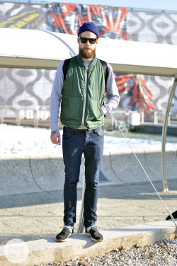 mrtuft:  Michael Hausen @ Pitti Photo by Stefano Carloni
