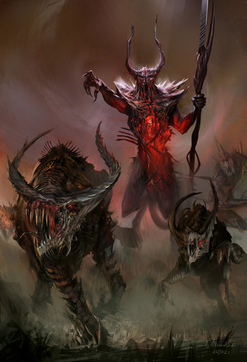 madcat-world:  Demon Lord - artozi