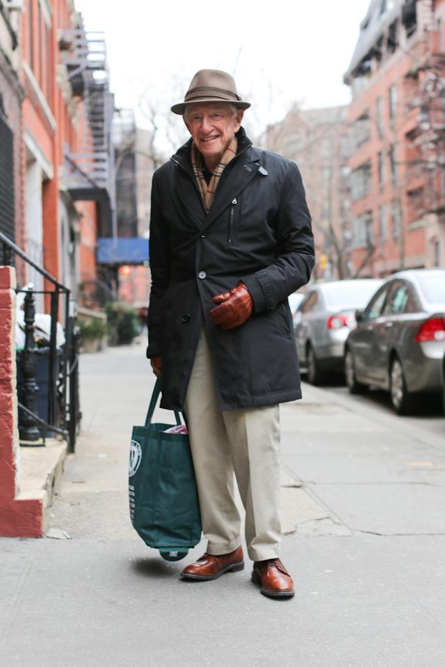 "humansofnewyork:  ""I've been married 50 years. If I was to give one piece of advice to young couples, it'd be this: Never lose your temper at the same time. If somebody's really mad, the other one better make a retreat."""