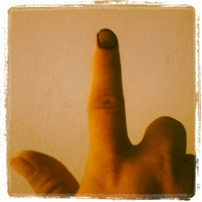 Done Voting!                                 #iVote #Halalan2013 #Instaphoto #CaviteCity (at Cavite City)