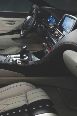 johnny-escobar:  Hamann BMW 650i interior