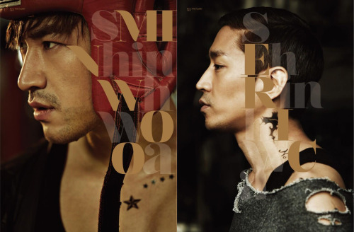 k-pop-jelly:  SHINHWA releases Minwoo and Eric's 'The Classic' teaser pictures