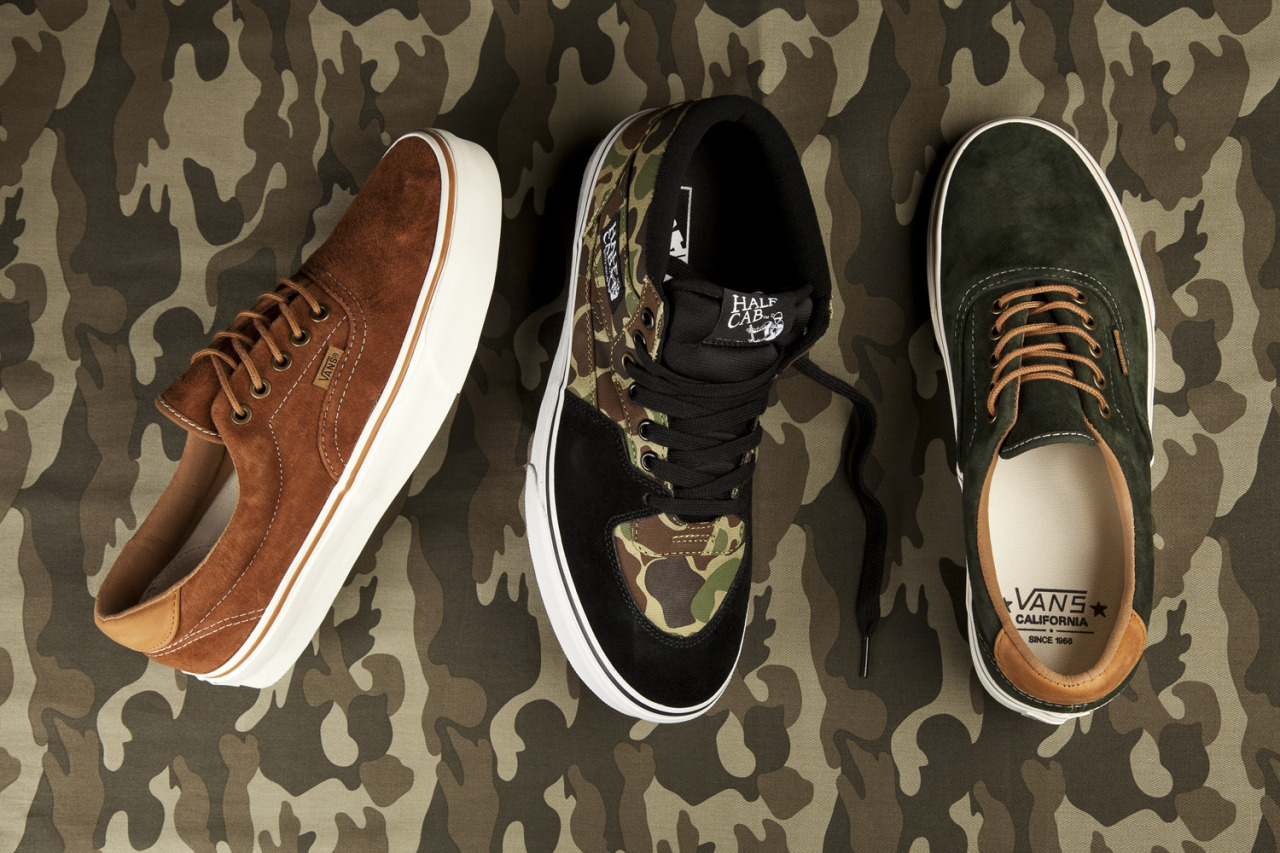 hypedc:  Vans Autumn tones available now HERE