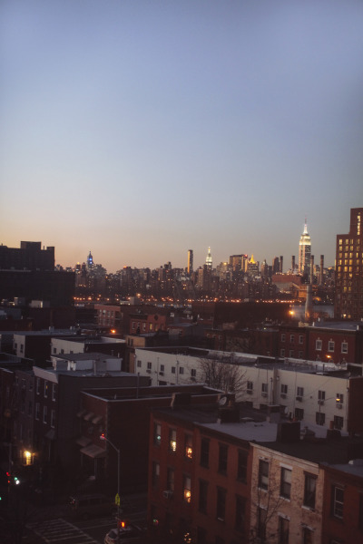 jamesnord:  New York from Brooklyn.