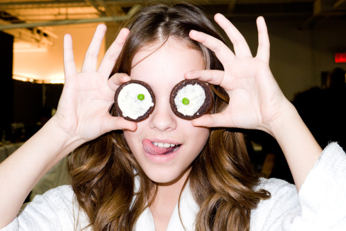 Barbara Palvin with cookie eyes #2