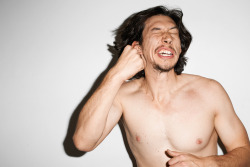 terrysdiary:  Adam Driver at my studio #10