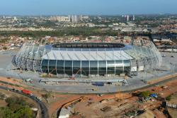 As we saw in a video earlier today, the first 2014 World Cup stadium in Brazil was officially handed over, Estadio Castelao in Fortaleza. Explore it inside here.