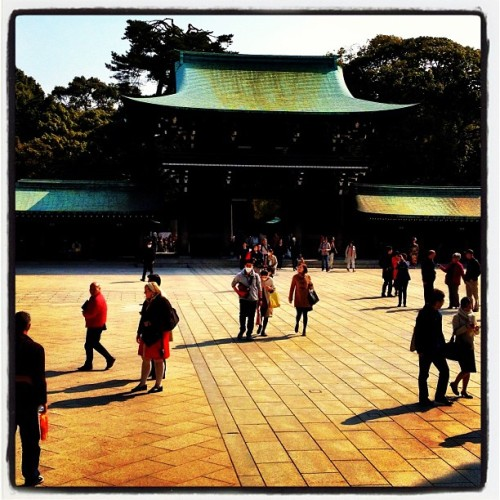 #Blessed: Meiji Jingu Shrine ~ I left my iPhone on a bench and it was returned to the Prayer Charm stand. Had to go back and buy a charm for Sound Body & Mind #Tokyo #travel (at 明治神宮 (Meiji Jingu Shrine))