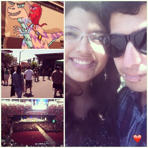 North park art fair and SDSU Graduation! Congrats Angel Rojas! And all the other grads this may :) can't wait to be there next may :) #sdsu #graduation #grad #northpark #sd #artfair