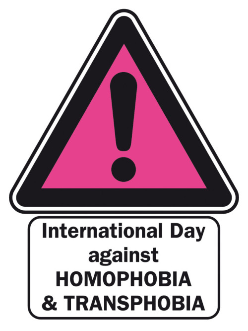 May 17 International Day against Homophobia & Transphobia
