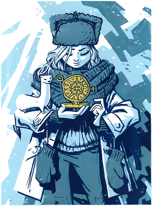 birdstump:  His Dark Materials: Lyra Belacqua, by Rory Phillips