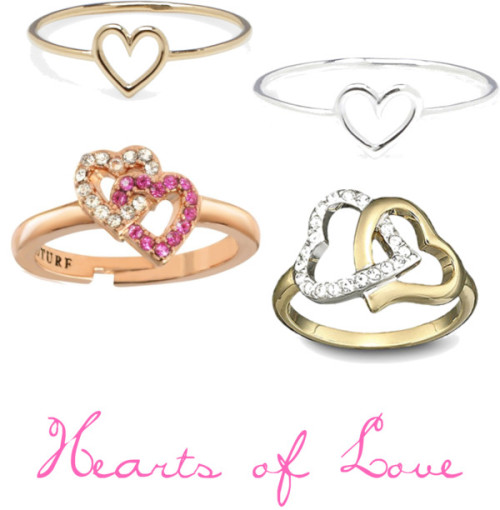 Hearts of Love by asianwonder featuring juicy couture jewelryAurélie Bidermann gold heart jewelry / Aurélie Bidermann silver heart jewelry / Swarovski  jewelry / Juicy Couture  jewelry