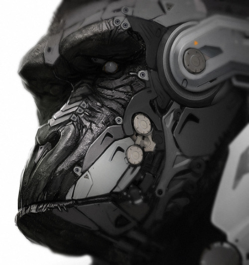 randomghost:  Gorilla Bot by Darren Bartley