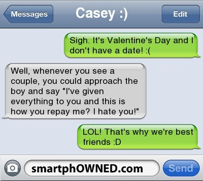No Valentinehttp://advice-animal.tumblr.com