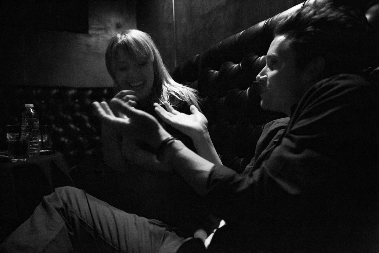 Post show. Alexz Johnson plays Hotel Cafe in Los Angeles, CA. March 22, 2013.