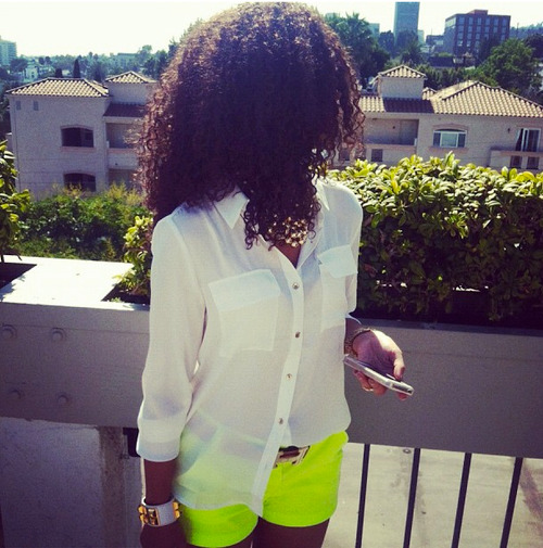 Beautiful Girls, With Curly Hair | via Facebook on We Heart It. http://weheartit.com/entry/55383874/via/derricka