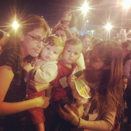 Show do Patati &	Patata! Bebê Logan e Alice! <3