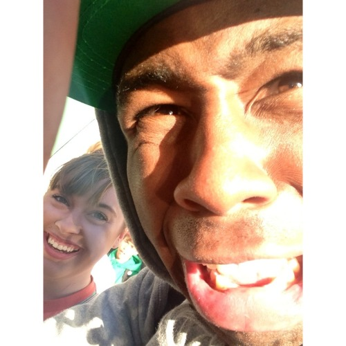 when tyler the creator took our picture ahahaha