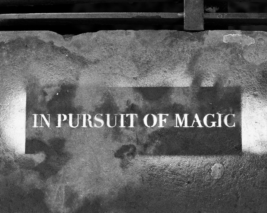 In Pursuit of Magic - NYC Last Weekend, Seen Through My Eyes Click here to see all the weekend's images.