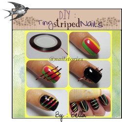 this-little-lady:   DIY : Tiny Striped Nails by polyvore-tipstas featuring nail treatments ❤ liked on Polyvore Brush Bundle Vol 1 Photoshop Brushes