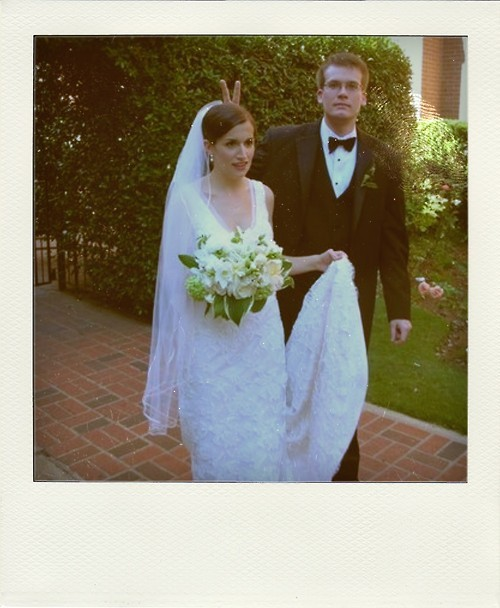 Sarah and John Green's wedding :)