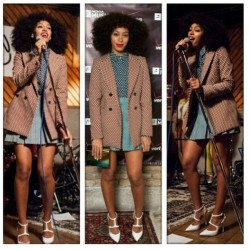 Solange's Style is the Best. #fashion #OOTD 💋 @mydamnstagramssss