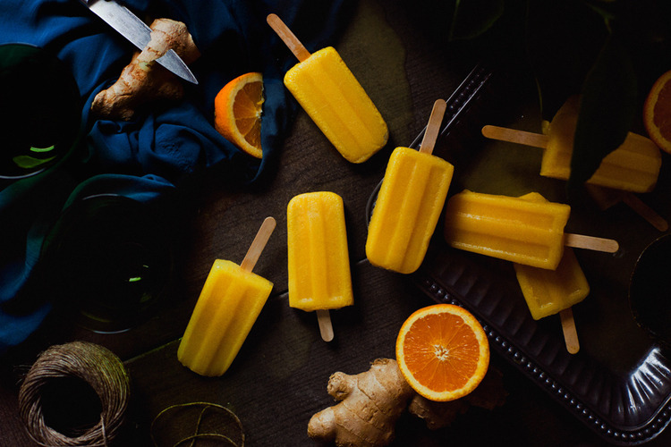 (via Orange Ginger Popsicles — JOYLICIOUS)