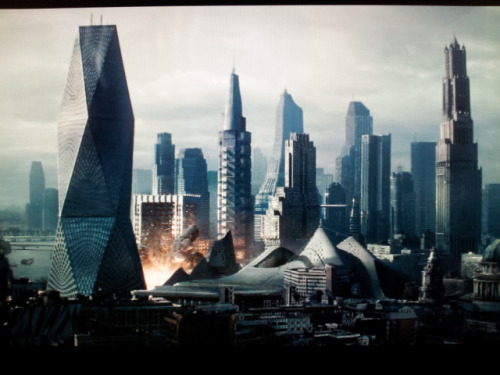 A believable cityscape. Unlike, say, Coruscant.