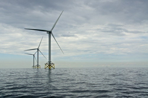 Vattenfall's Ormonde Off Shore Wind park near Barrow-in-Furness